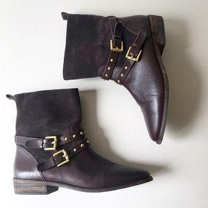 Coach brown booties